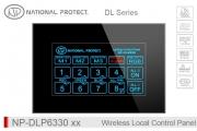 پنل لمسی کنترل روشنایی بی سیم - 16 کانال - RGB