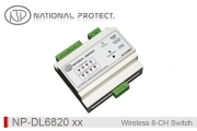 کنترلر سوئیچ هوشمند بی سیم- 8 کانال - ورودی دار