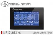 پنل مرکزی کنترل روشنایی و تاسیسات بی سیم - 384 کانال