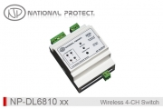 کنترلر سوئیچ هوشمند بی سیم - 4 کانال - ورودی دار